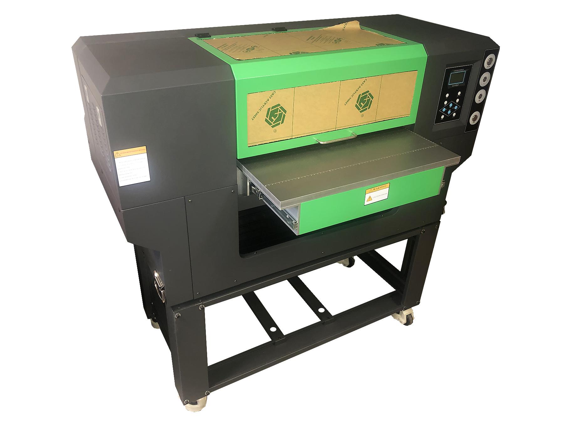 Flachbett UV Drucker von vorne rechts