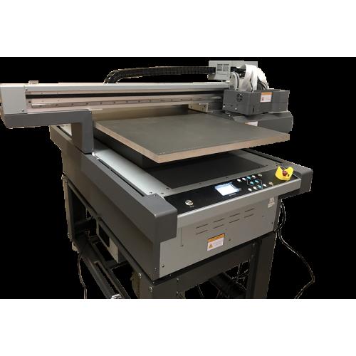 Flachbett UV Drucker A1 von oben rechts