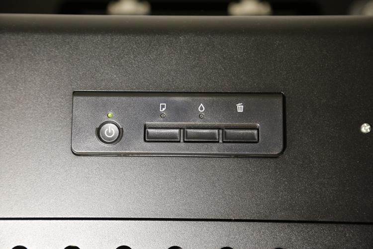 Flachbett UV Drucker A3 Schaltfläche