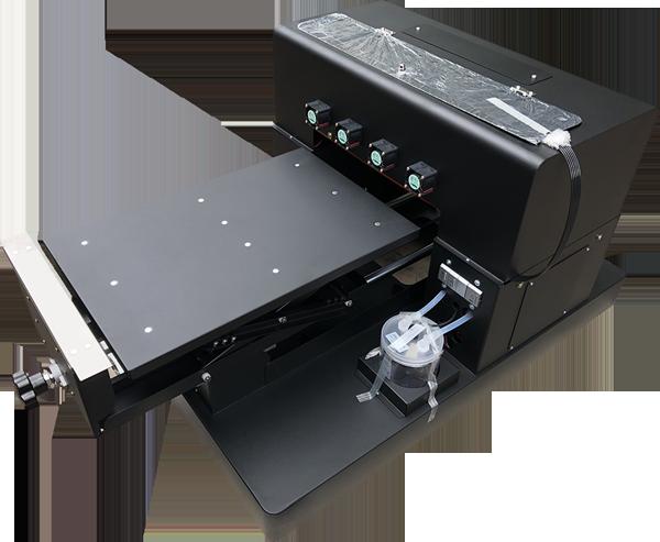 Flachbett UV Drucker A3 von vorne  links