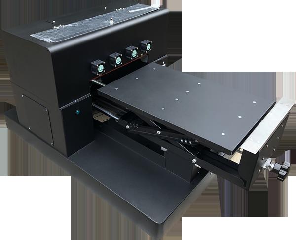 Flachbett UV Drucker A3 von vorne rechts