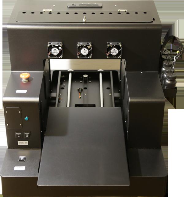 Flachbett UV Drucker A3 von vorne