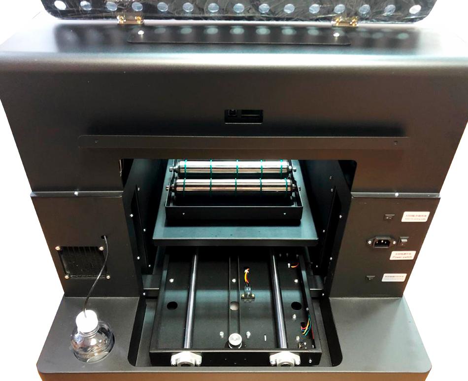 Flachbett UV Drucker A4 von hinten 1