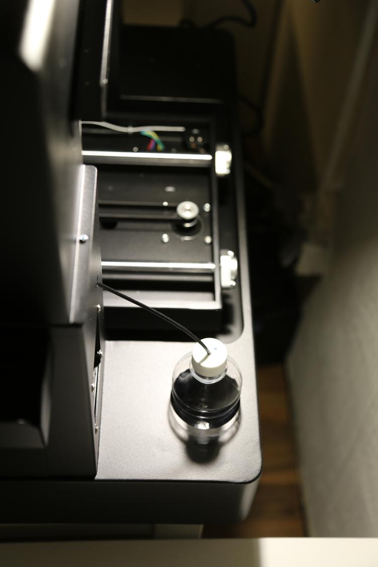 Flachbett UV Drucker A3 Tintenzufuhr