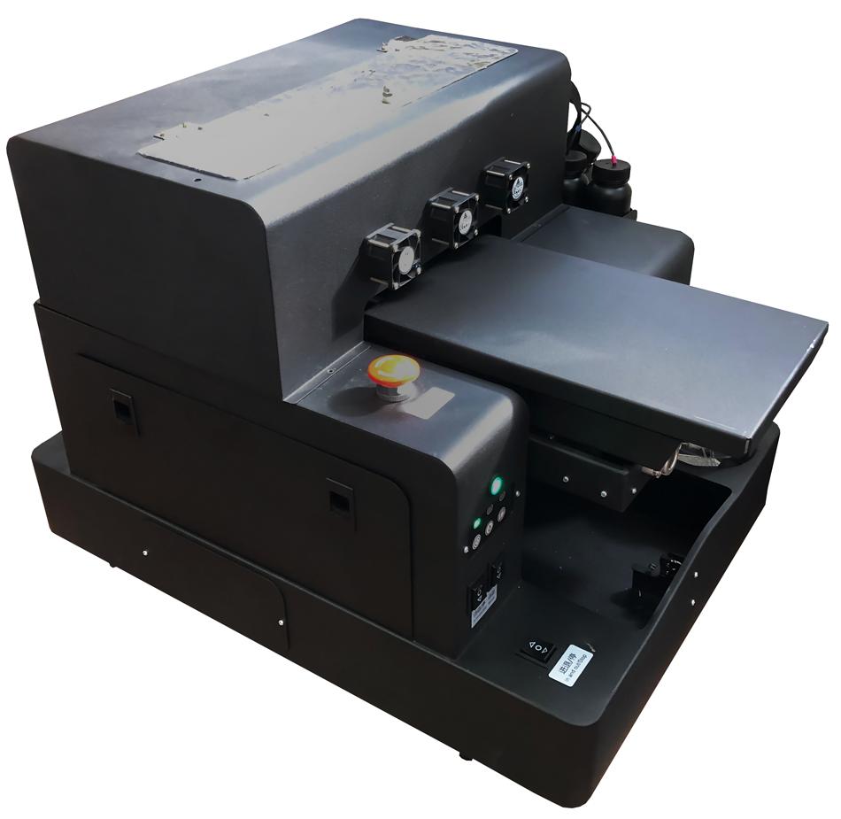 Flachbett UV Drucker A4 von links oben