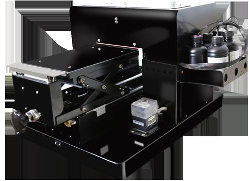 Flachbett UV Drucker A4  rechts oben