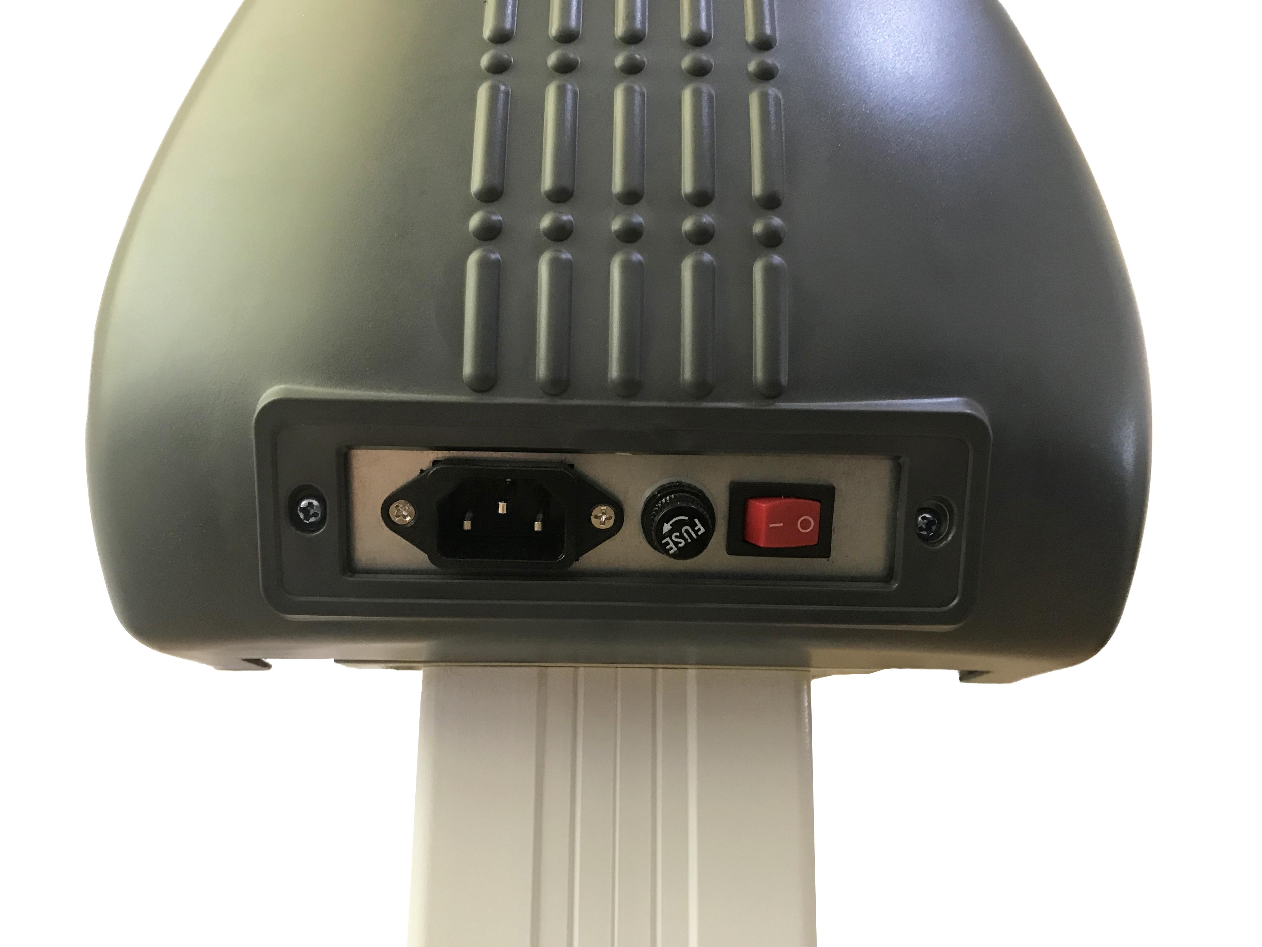 Schneideplotter 720 mm An/Ausschaltepanel