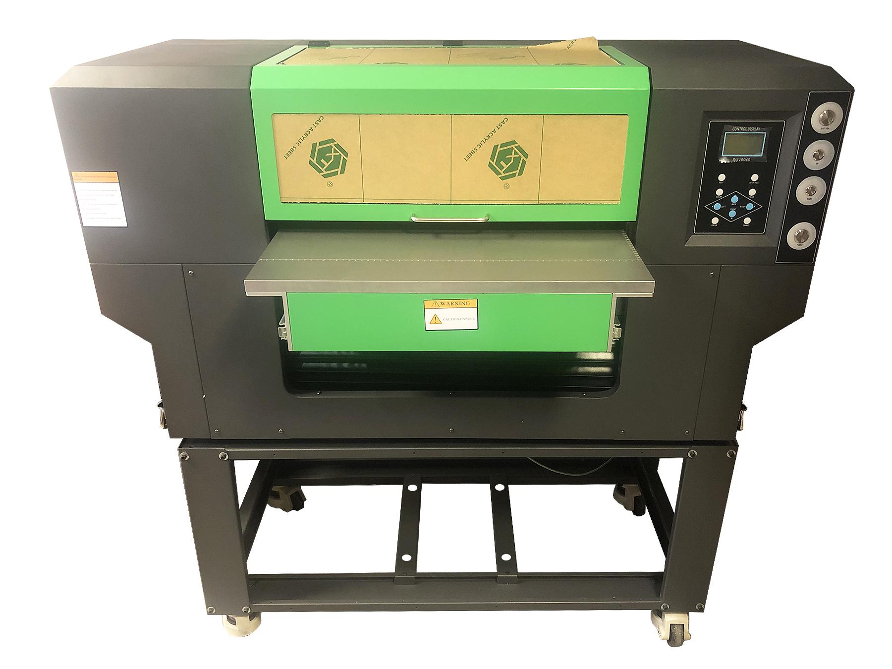 Flachbett UV Drucker von vorne
