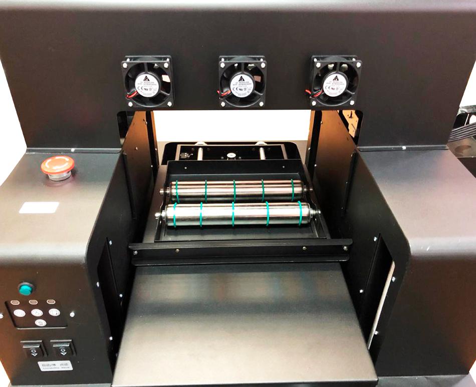 Flachbett UV Drucker A4 von vorne