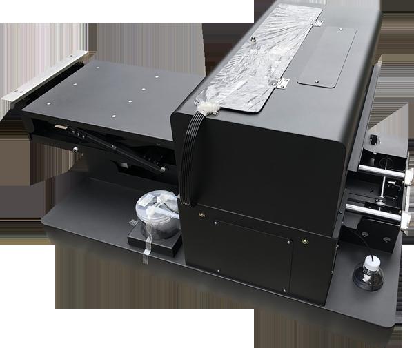 Flachbett UV Drucker A3 von links oben