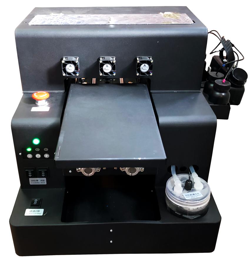 Flachbett UV Drucker A4 von vorne aktiv